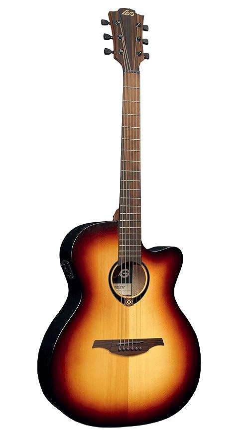 T70ACE BRB Auditorium Brown sunburst - Guitarra electroacústica ...