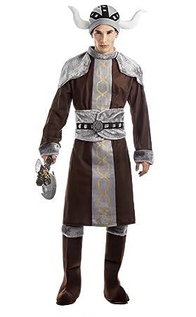 CUALQUIER DISFRAZ - Disfraz vikingo talla xl: Amazon.es: Juguetes ...