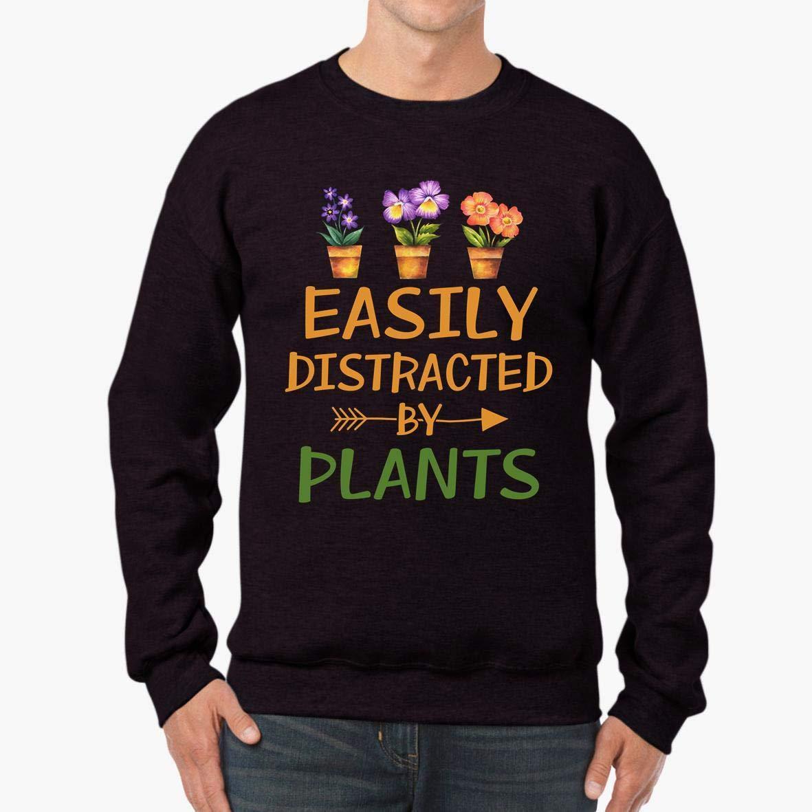 Easily Distracted by Plants Unisex Sweatshirt tee