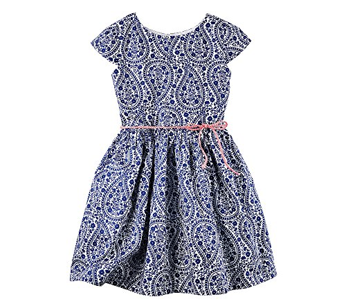 Buy belted paisley dress - 6