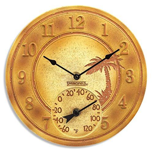 Terra Cotta Wall Clock - Springfield 12