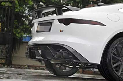EpparCarbon Fiber Rear Spoiler For Jaguar F Type 2014 2015