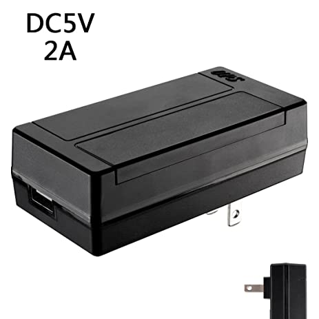uxcell dc 5v 2a backup power supply adapter 3 5x1 35mm plug surge