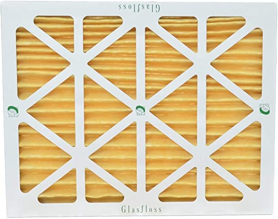 6 Pack Actual Size 15-1//2 x 24-1//2 x 7//8. 16x25x1 Merv 8 Pleated AC Furnace Air Filters