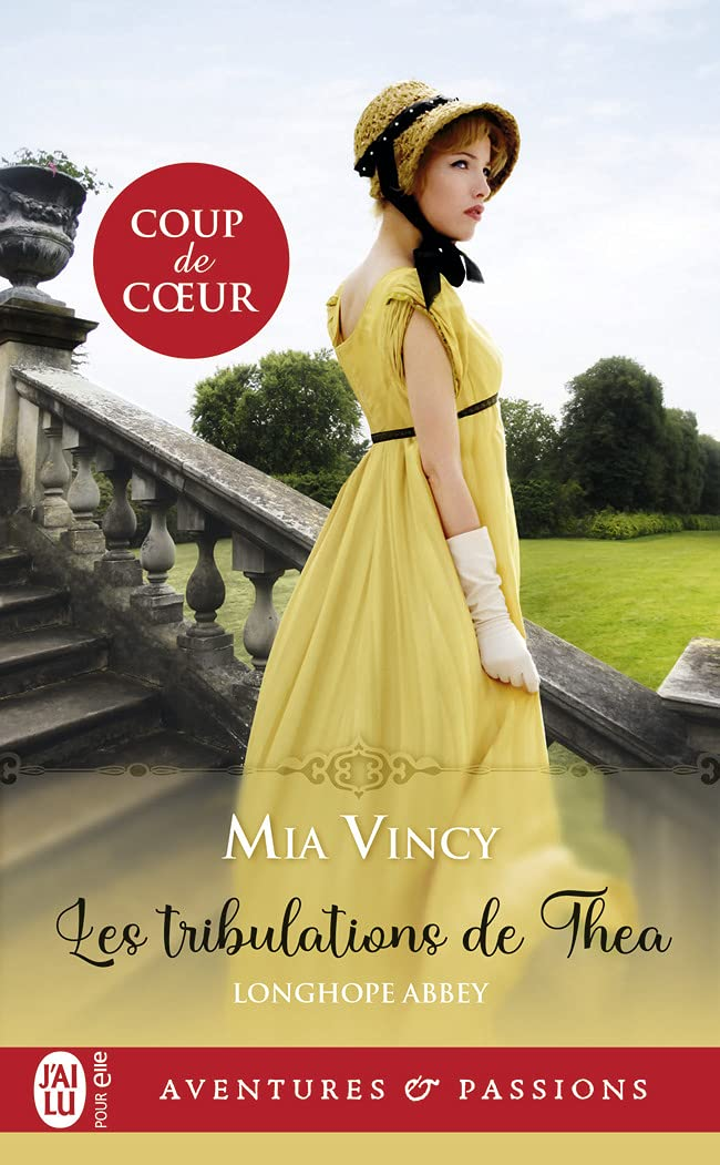 Longhope Abbey - Tome 1 : Les tribulations de Thea de Mia Vincy 61hXfJiVthL