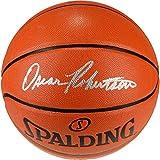 Oscar Robertson Autographed Indoor/Outdoor Spalding Basketball - Fanatics Authentic Certified - Autographed Basketballs
