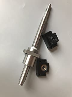 1 Anti Backlash Ballscrew RM1605-1250mm+1 set BK//BF12+1 pc Coupler