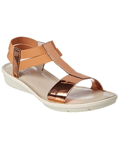 cf8b06cecb7 Image Unavailable. Image not available for. Color  Munro Womens Ideal Rose  Gold Sandals ...