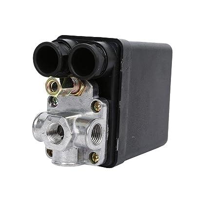 Válvula de ajuste del presostato del Compresor de aire resistente 90 Psi -120 Psi