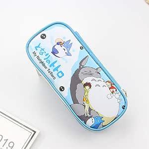 ulofpc Lindo Estilo de Dibujos Animados Mi Vecino Totoro Bolso de la Lápiz Estuche de Lápiz Cosmético Maquillaje Bolsa Bolsa Papelería Escritura Oficina Material Escolar Porta cartera: Amazon.es: Hogar
