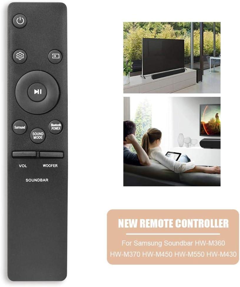 Domybest AH59-02758A - Mando a distancia para Samsung Barra de sonido HW-M360 HW-M370 HW-M450 HW-M550 HW-M430: Amazon.es: Electrónica