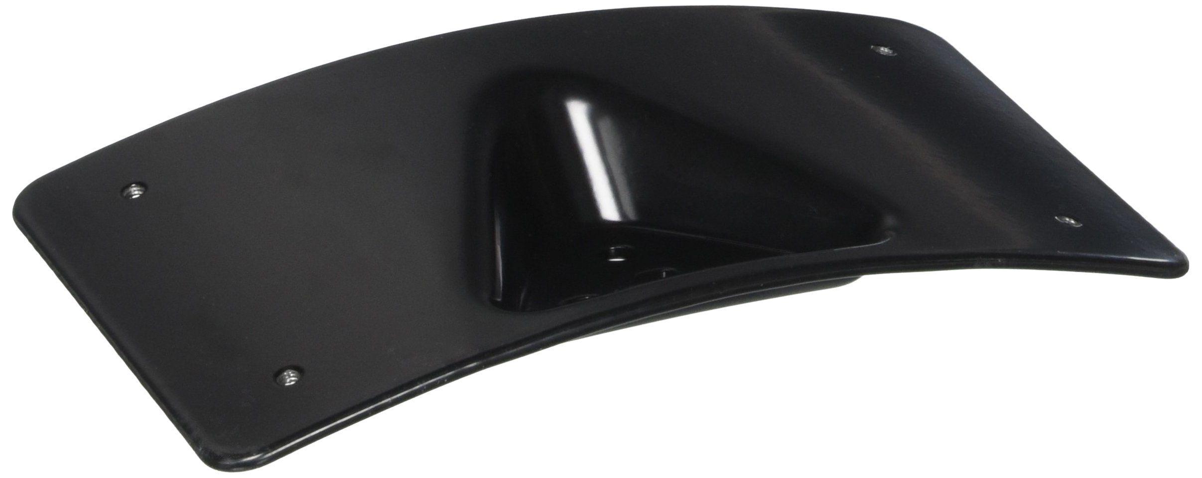 Custom Dynamics CD-PFM-B License Plate Mount (Gloss Black Radius for 1984-2016 Harley-Davidson Models)