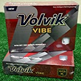 3 Dozen Volvik Vibe White Golf Balls - New in Box