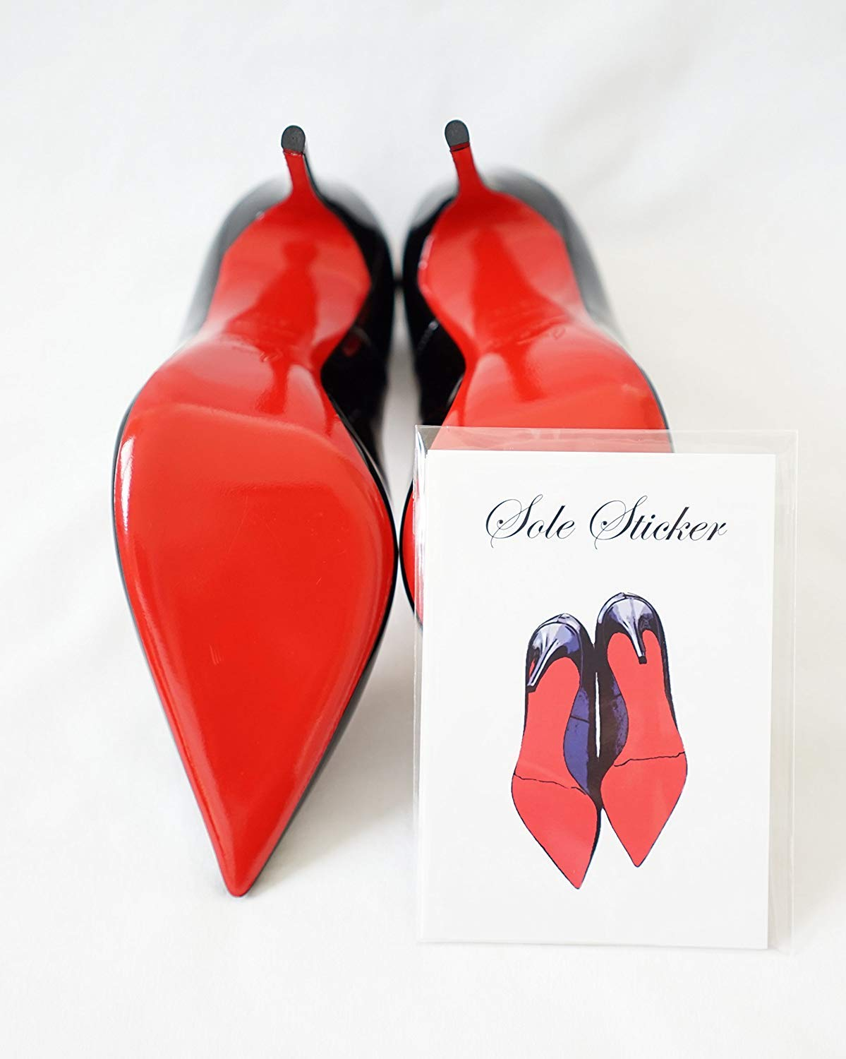 Sole Sticker - Crystal Clear Sole Protector for Christian Louboutin Heels