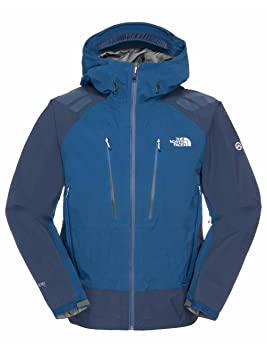 The North Face - Chaqueta hardshell para hombre, color azul, tamaño small: Amazon.es: Ropa y accesorios