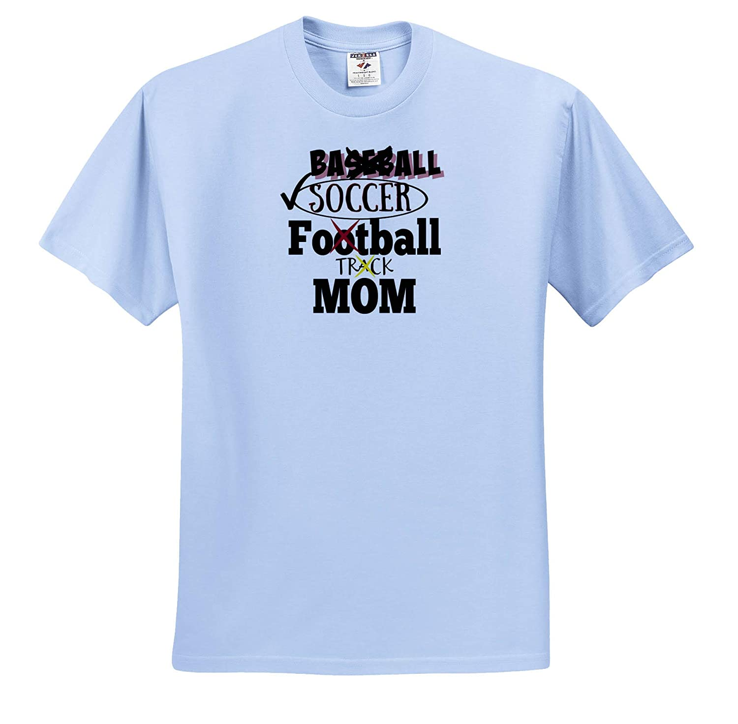 Image Soccer Mom ts/_311810 3dRose Carrie Merchant Quote Adult T-Shirt XL