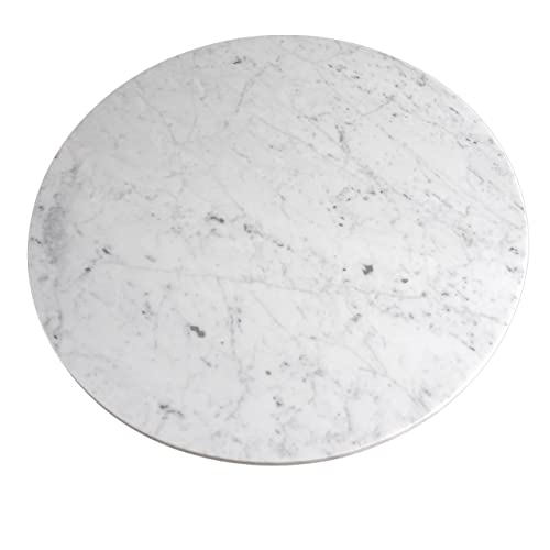 Amazon Com Marble Lazy Susan Turntable Rotating Tray Serving Plate Large Dining Table Centerpiece 20 Inch Handmade