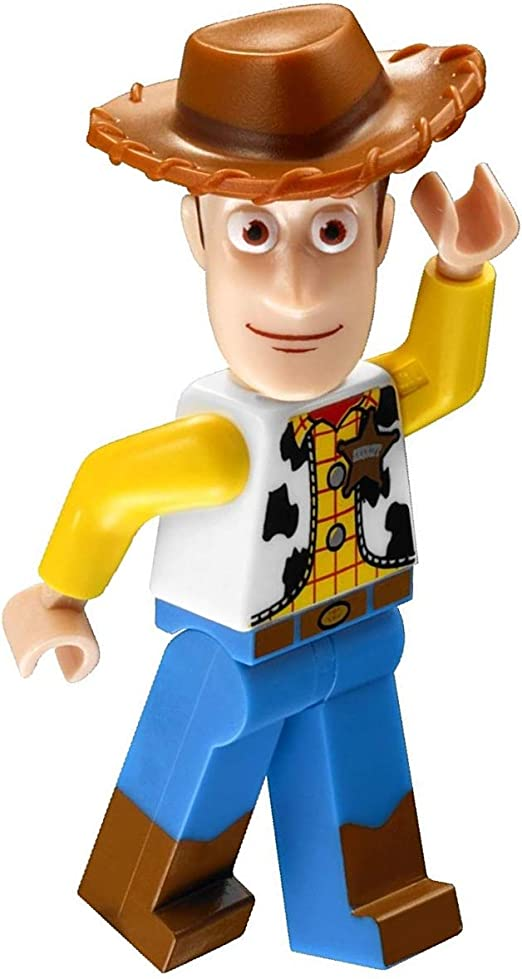 LEGO Mini Figure Woody Normal Legs Non Modified from set 10767 Toy Story 4