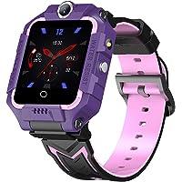4G Smart klocka för barn, GPS Bluetooth-kamera, multifunktion dubbel kamera video telefonövervakning spårare…