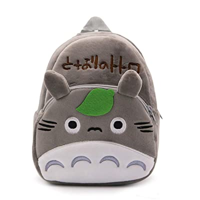 Cute Cartoon Backpack Totoro Panda Plush Bag Gift: Clothing