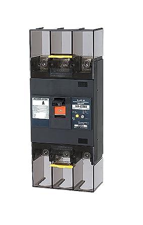 【クリックで詳細表示】テンパール工業 Eシリーズ(経済タイプ) 漏電遮断器OC付150A(37kW)-100/200/500mA 警報スイッチ付 223EA15W2P