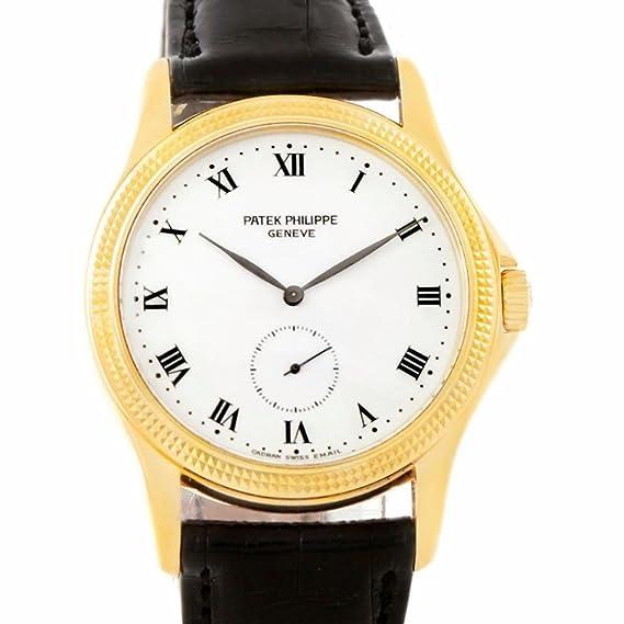 PATEK PHILIPPE CALATRAVA mechanical-hand-wind Mens Reloj 5115 (Certificado) de segunda mano: Patek Philippe: Amazon.es: Relojes