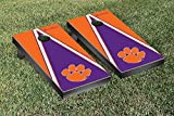 Clemson Tigers Cornhole Game Set Triangle Version