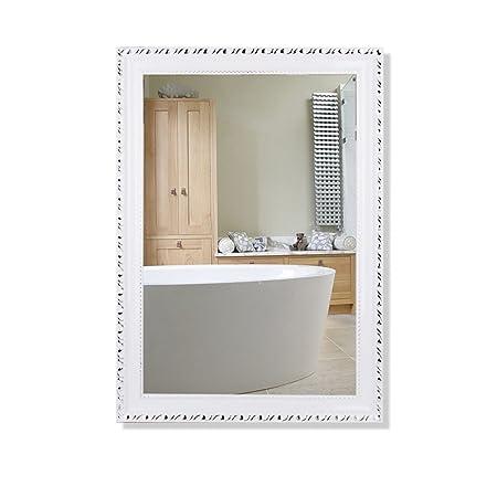 Specchio Con Cornice Per Bagno.Zi Ling Shop Specchio Da Parete Per Bagno Con Cornice Specchio