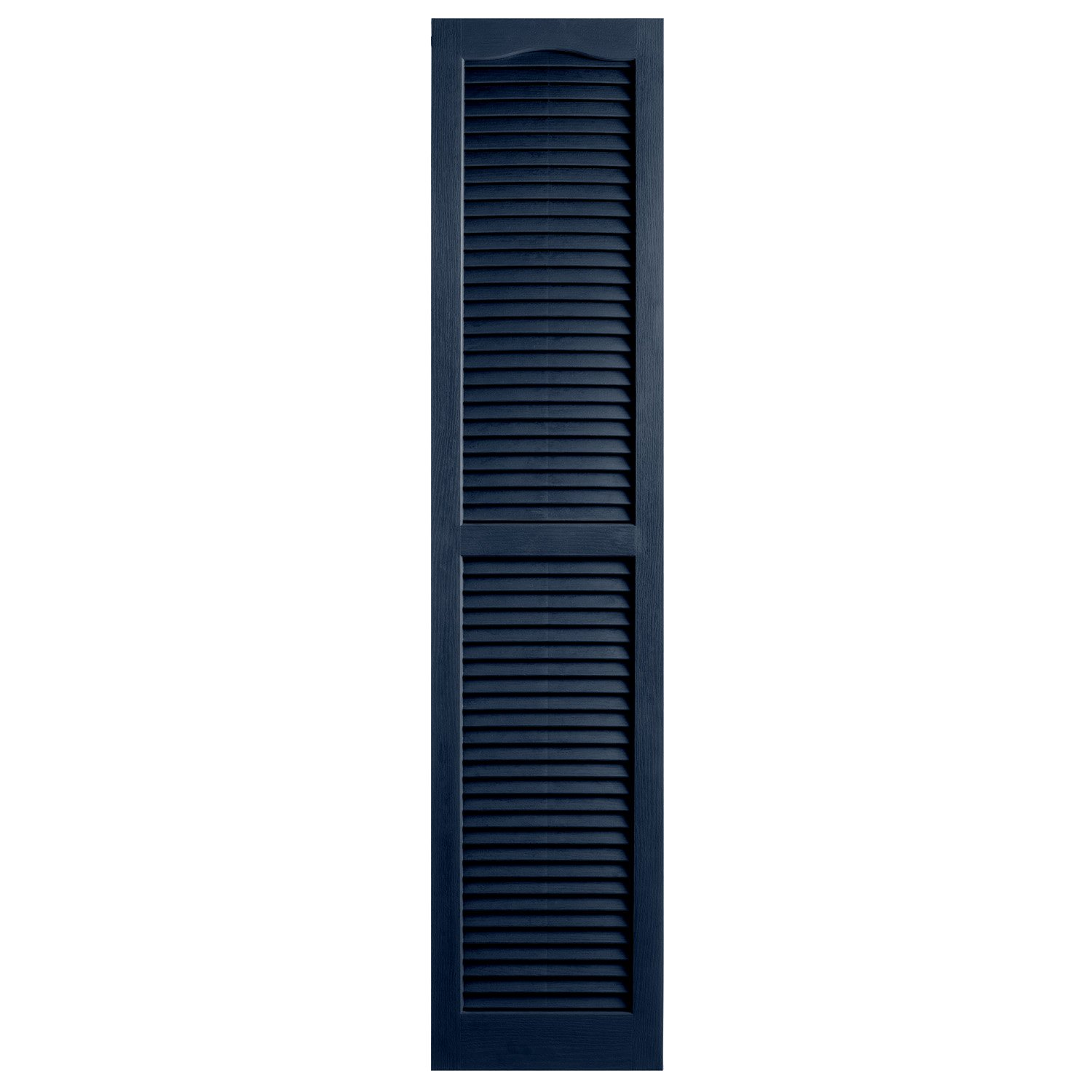 Alpha VNB1563ROOL 14-Inch by 63-Inch Open Louver, Royal, 2-Pack