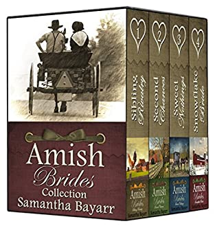 book cover of Amish Brides of Willow Creek