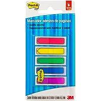 Marcador de Página Adesivo Post-it Flags Setas 5 Cores Sortidas 11,9 mm x 43,2 mm - 100 folhas
