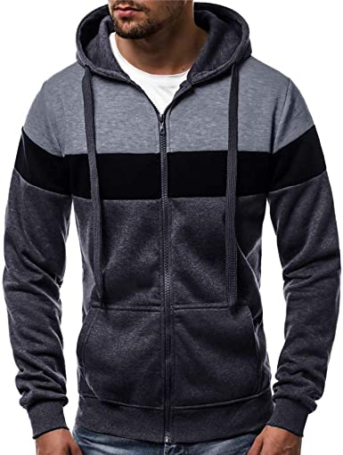 MORCHAN Pocket Automne Hiver Mode Hommes Casual Pull avec