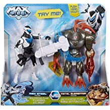 Max Steel Battle Pack: Max Steel vs. Metal Elementor Figure 2-Pack