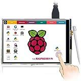 ELECROW 3.5インチTFT LCD ディスプレイ 解像度480*320 タッチスクリーン モニター Raspberry Pi 3B+3 2B B+対応
