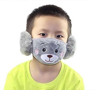 Winter Staubdicht Maske Ohr Schutz Und Warm Halten Zwei-in-one Maske Mund Maske Masken Bekleidung Zubehör