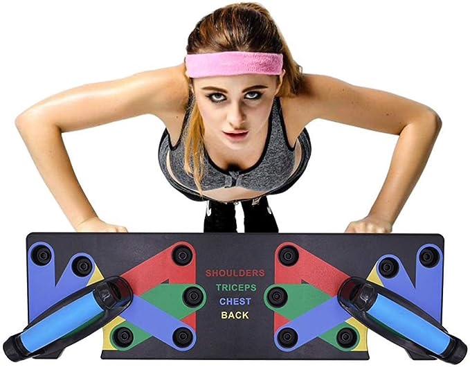 CHRISTY HARRELL Planche de Pompes 9 en 1 pour Musculation et Musculation