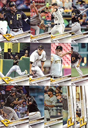 2017 Topps Series 1 Pittsburgh Pirates Baseball Card Team Set - 13 Card Set - Includes Starling Marte, Gregory Polanco, Josh Bell, Jameson Taillon, Tyler Glasnow, and more! (Pittsburgh Pirates Official Base)