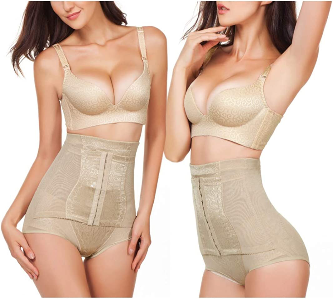 Aoyang Women High Waist Trainer Tummy Control Panties Butt Lifter Body Shaper Corsets Hip Abdomen Enhancer Shapewear Panty