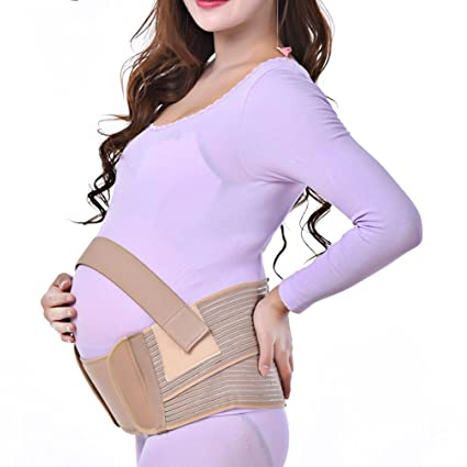 Zhhlinyuan Maternity Support Belt Waist Back Abdomen Belly Band Soft Seamless for mujeres embarazadas: Amazon.es: Ropa y accesorios