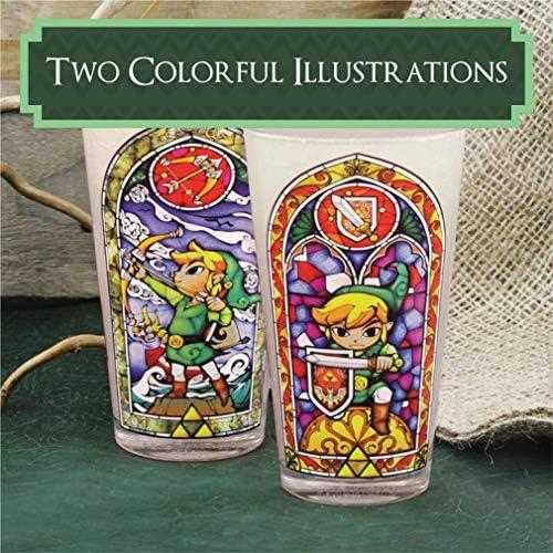 Amazon.com: Paladone – Legend of Zelda Link Vidrio: Toys & Games