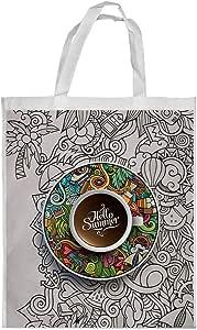 hello summer Printed Shopping bag, Medium Size
