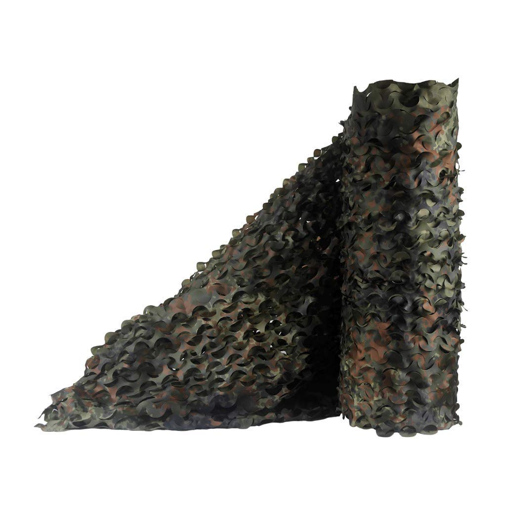 1.54m voiturel Artbay BÂche de Tente Mode Jungle Camouflage Filet Photographie en Plein air Caché Monocouche Couche Soleil Décoration Multi-Tailles en Option (Taille  1.5  9m) Filet de Camouflage Camouflage