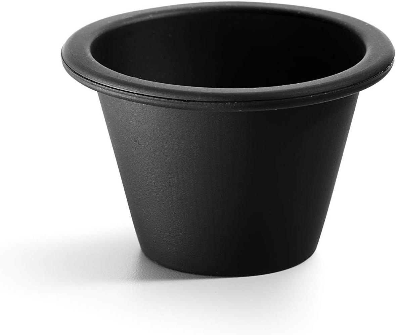 Lékué Flanera Individual 6 Negro, Silicona, 6 cm: Amazon.es: Hogar