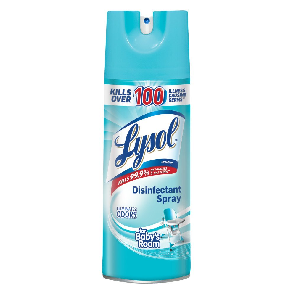 Lysol Disinfectant Spray, For Baby's Room, 12.5oz