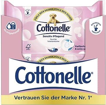 Papel higi/énico h/úmedo Cottonelle Pure Refill Sensible