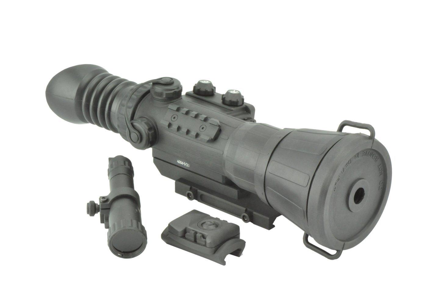 Armasight Vulcan 6X 3P MG - Professional 6x Night Vision Rifle Scope Gen 3; High-Performance Thin-Filmed Auto-Gated IIT with Manual Gain and IR850-XLR Extra Long-Range Infrared Illuminator