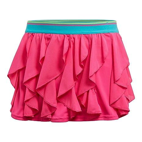 1567f312d Amazon.com : adidas Tennis Frilly Skirt : Sports & Outdoors