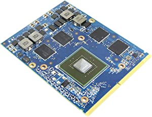 Genuine New 2GB Graphics Video Card GUP Replacement for Dell Alienware M15X R1 M17X R1 R2 R4 M18X R1 R2 Gaming Laptop, NVIDIA GeForce GTX 660M 660 GDDR5 2 GB N13E-GE-A2 MXM VGA Board Repair Parts