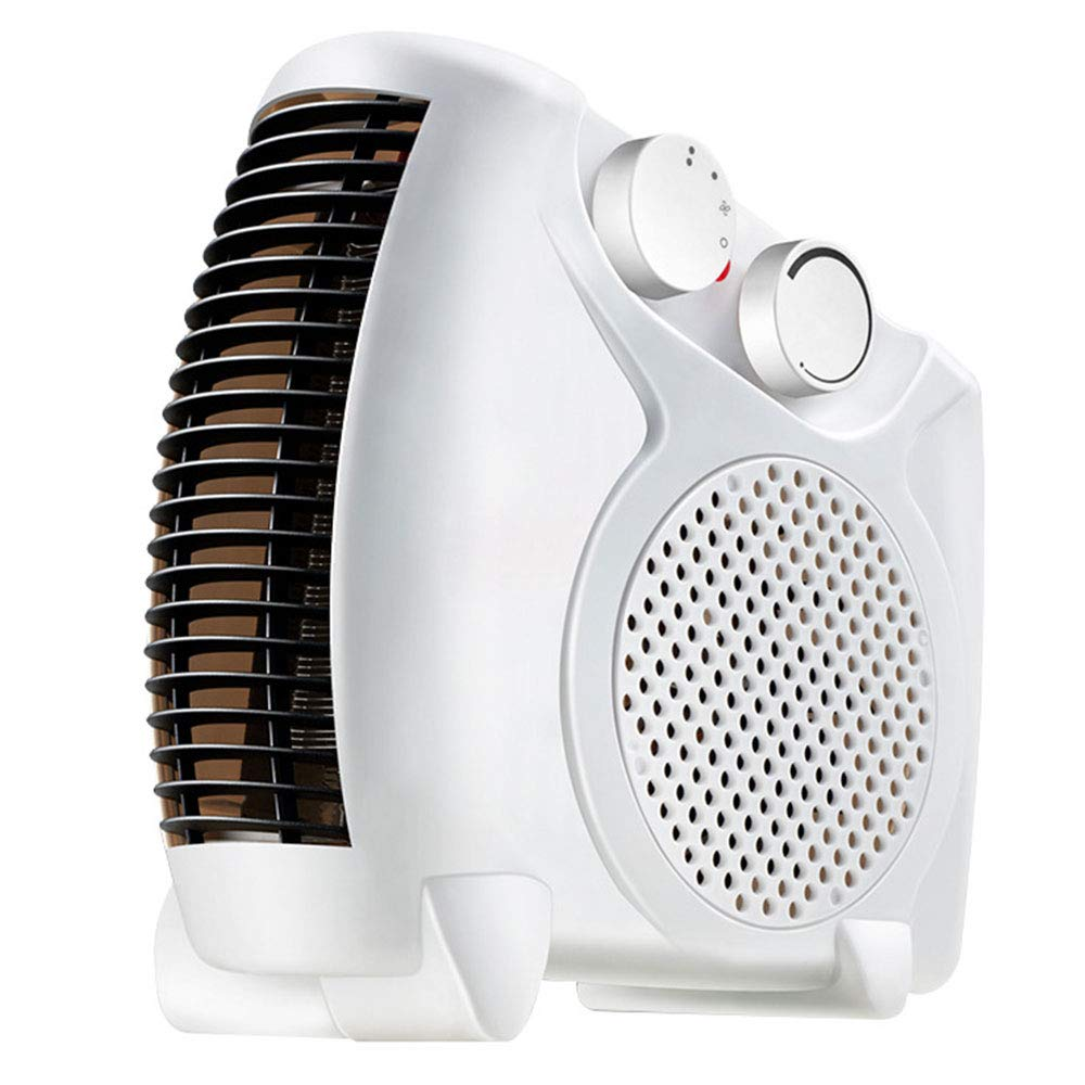 KIICN Economic Air Heater Warmer Fan Space Saver Standing Desktop Flat and Stand Portable by KIICN