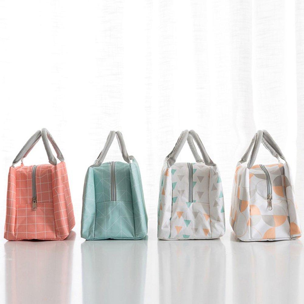 YILIAN yecanbao Bolsa de Picnic Acolchada, Plegable, portátil, : Impermeable y Acolchada, con Aislamiento de Aluminio. (Color : portátil, A) 78200b